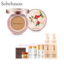 SULWHASOO Perfecting Cushion SPF50+PA+++ Set  [Peach Blossom Spring Utopia Limited Edition]